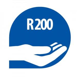 Donasie R200