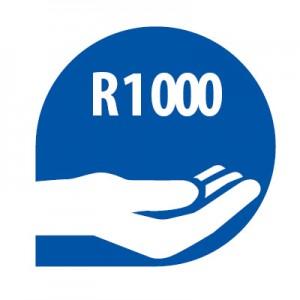 Donasies R1000
